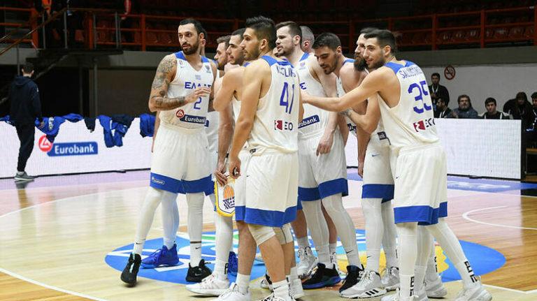 Προκριματικά Eurobasket 2021: Στη Βοσνία για το 2/2 η Εθνική