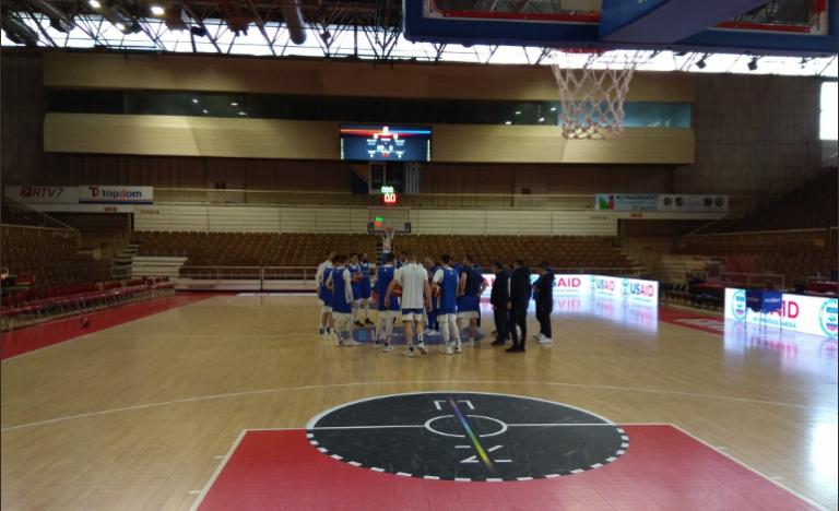 Η πρώτη προπόνηση της Εθνικής Ανδρών στην Τούζλα (pics)