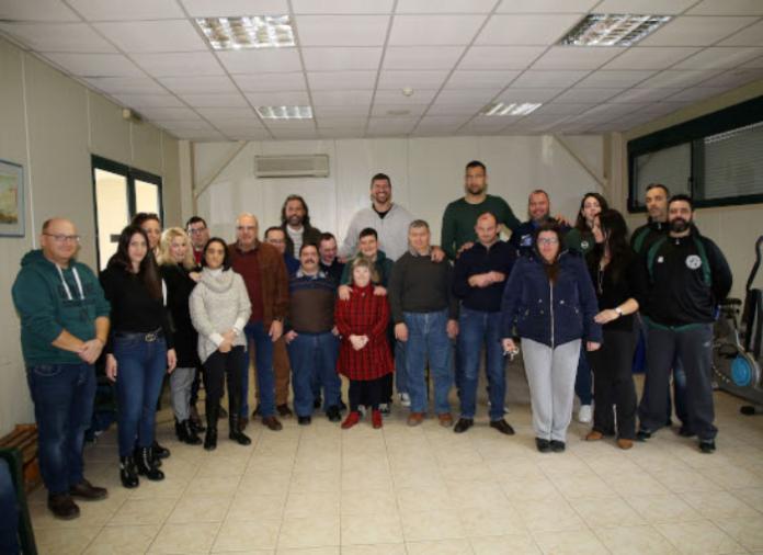 Τo ελληνικό μπάσκετ στο Κέντρο Ειδικών Παιδιών Ζωοδόχος Πηγή
