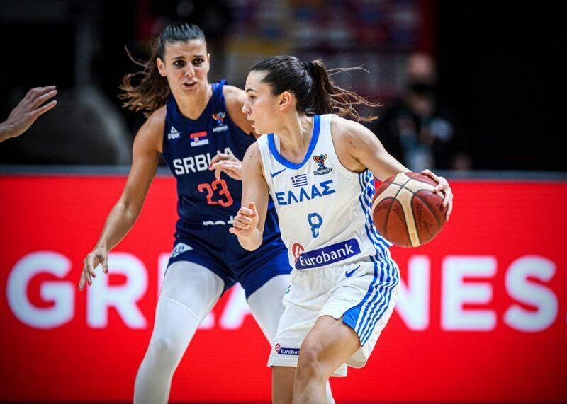 Ελλάδα-Σερβία Γυναίκες