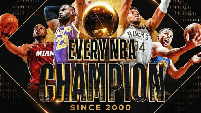 Πρωταθλητές NBA 2000-2021