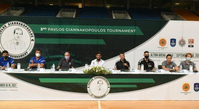 Η συνέντευξη Τύπου για το 3ο Τουρνουά «Παύλος Γιαννακόπουλος»